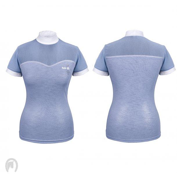 Fair Play Daniela T-shirt Pale Blue