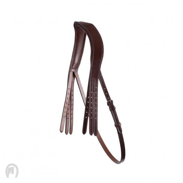 Montar Nakkestykke Double Classic ECO Leather Brun