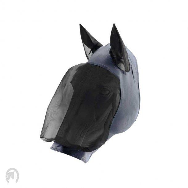 Horse Guard Insektmaske m/lycra Sort/Grå
