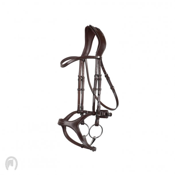 Montar Trense Monarch Jumping ECO Leather Brun