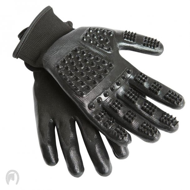 HandsOn - Strigle Handske Sort