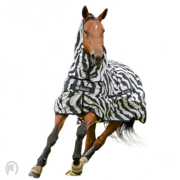 Bucas Sweet-itch Zebra insektdækken