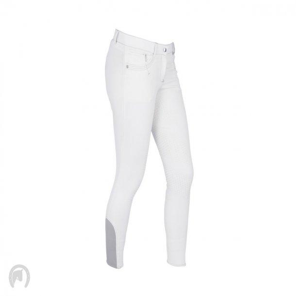 Covalliero Basic Plus Ridebukser Dame Hvid