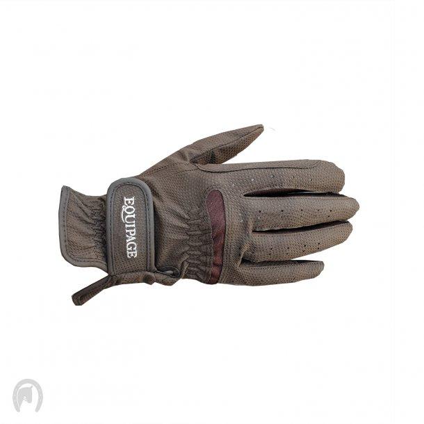 Equipage Active Handsker Brun