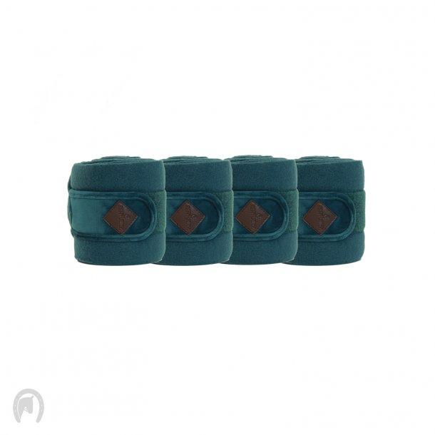 Kentucky Velvet Fleecebandager Emerald - 4stk