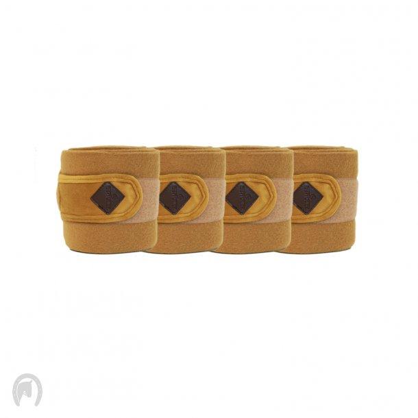 Kentucky Velvet Fleecebandager Mustard- 4stk