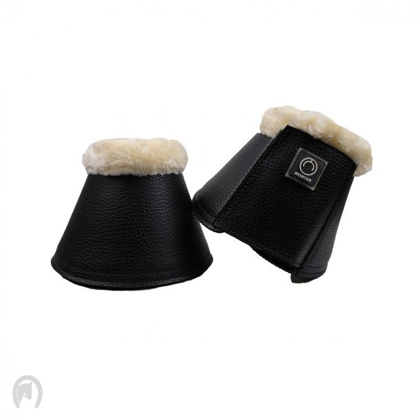 Montar PU leather Klokker smooth set2 Sort