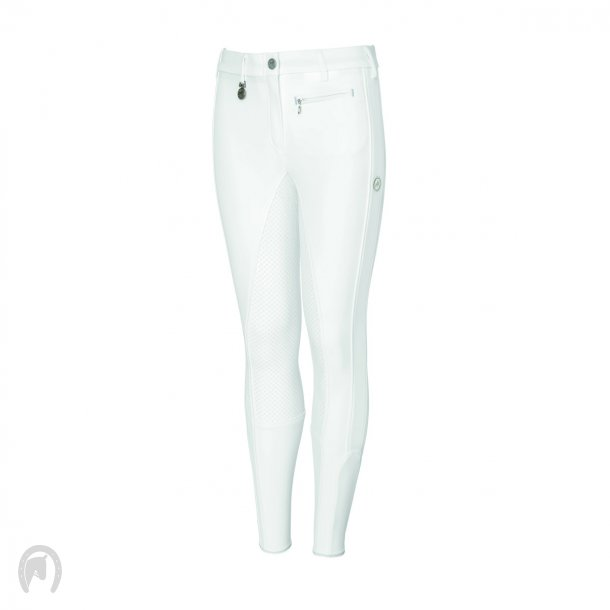 Pikeur Lucinda Girl Grip Ridebukser - Hvid