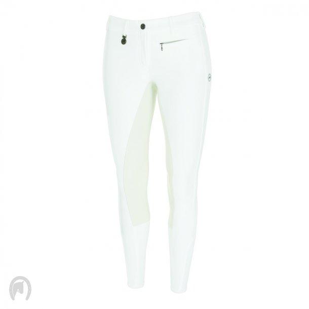 Pikeur Lucinda Skind Ridebukser - Hvid
