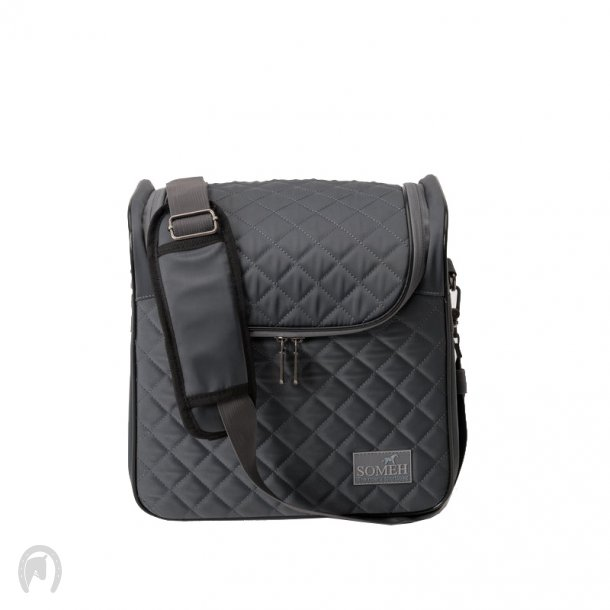 Soméh Grooming Bag Compact Equestrian Grey