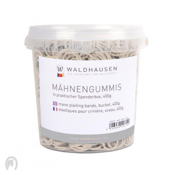 Waldhausen Elastikker i Spand Hvid (400g)