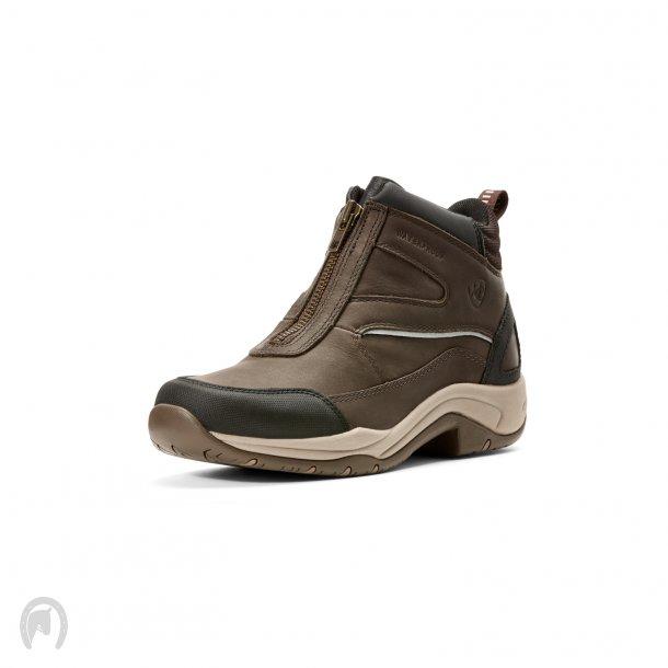 Ariat Telluride Zip Waterproof Staldstøvler Mørkebrun