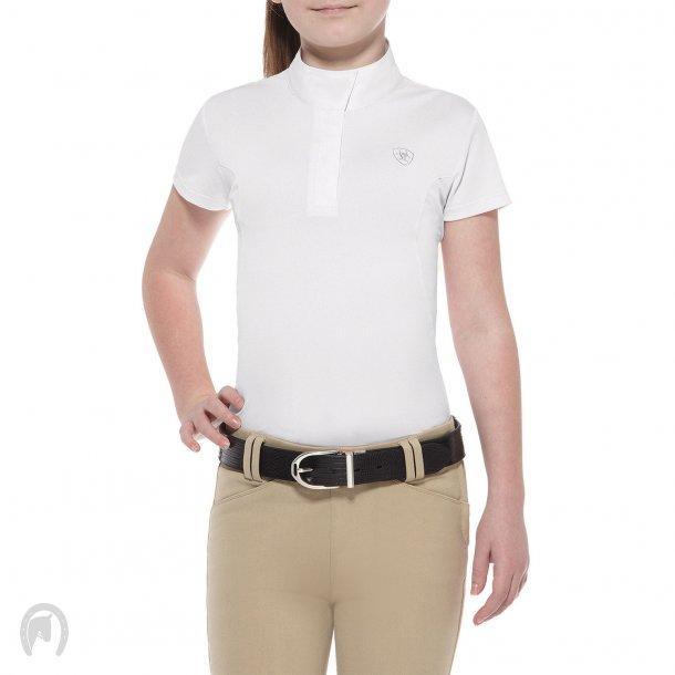Ariat Aptos Girl Showshirt Hvid