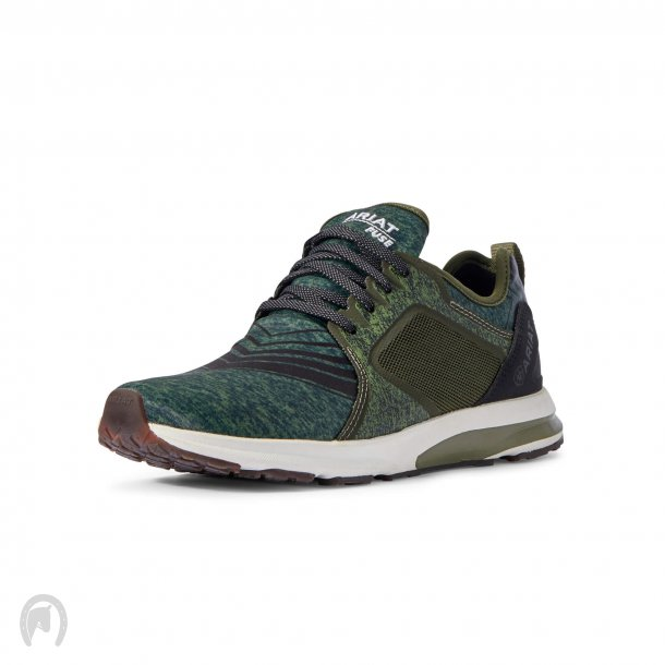 Ariat Fuse Sneakers - Heathered Green