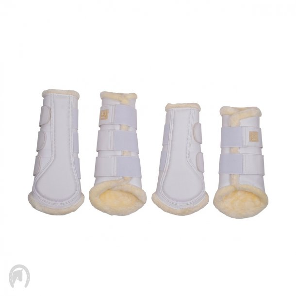 Montar Protection boots Tech leather Hvid