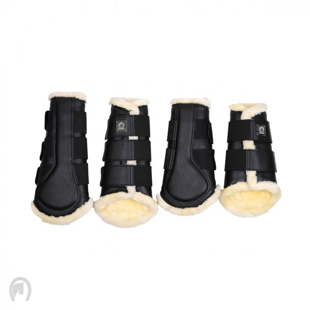 Montar Protection boots Tech leather Sort