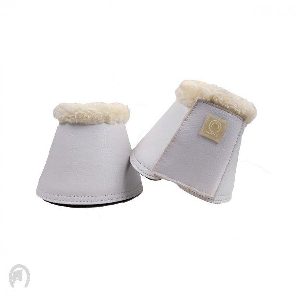 Montar PU leather Klokker smooth set2 Hvid