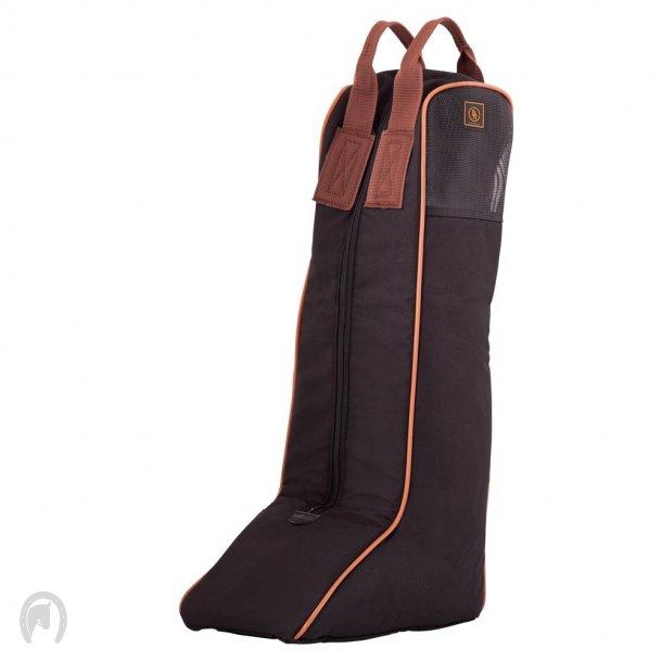 Støvletaske BR sort/brun
